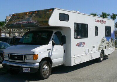 This Class C is the one we took on our first RV trip in March 2007.