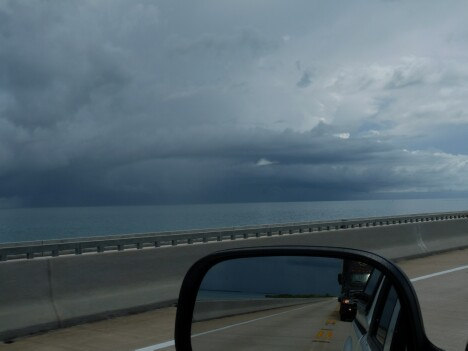 Storm Clouds over the Keys