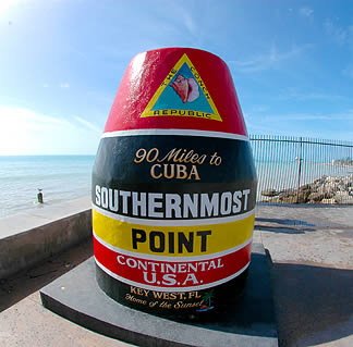 Southernmost point of US