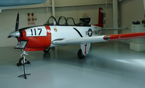 T-35 Mentor trainer - I had flight training in one of these.