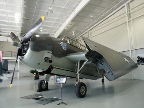 TBM Avenger Bomber - George H. W. Bush flew one like this.