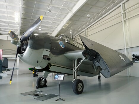 TBM Avenger Bomber - George H. W. Bush flew one like this.