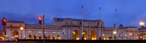 Union Station at Dusk