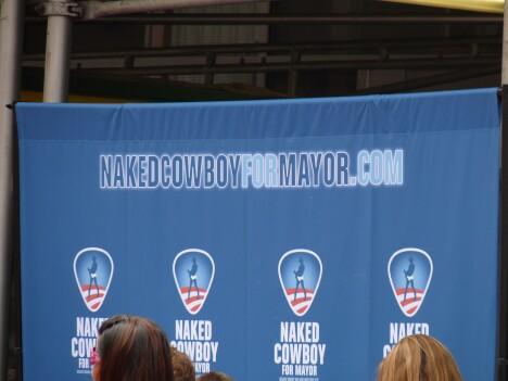 Naked Cowboy for Mayor