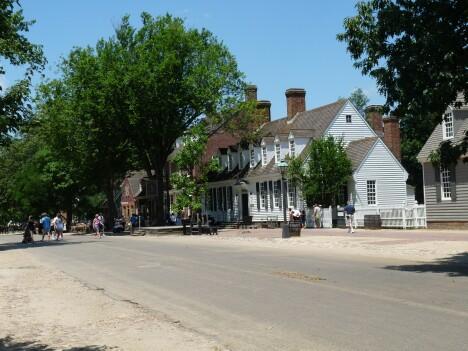 Colonial Williamsburg street