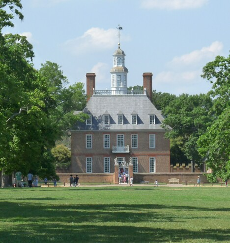 The Virginia Colony Governor's House