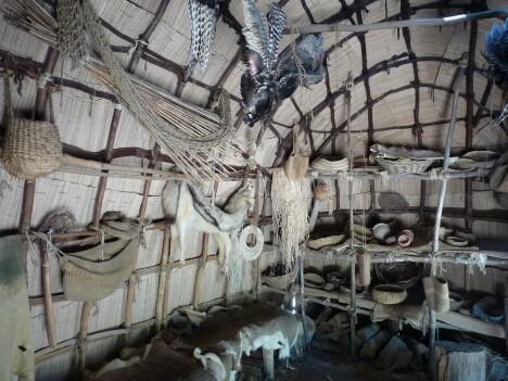 Powhatan Hut Interior