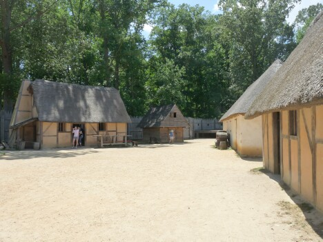 Jamestown Settlement Buildings