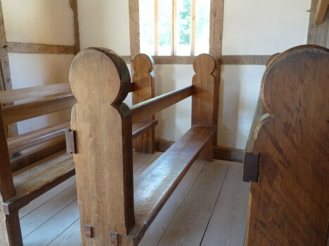 Jamestown Church Pew