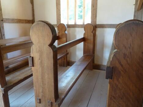 Jamestown Church Pew