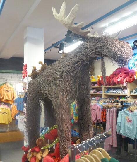 Wicker Moose