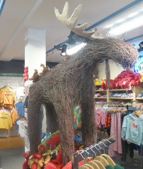 Wicker Moose