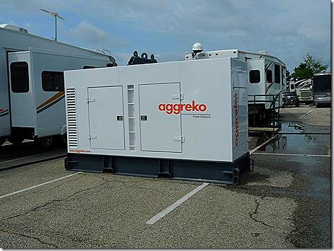 Aggreko Generator 1