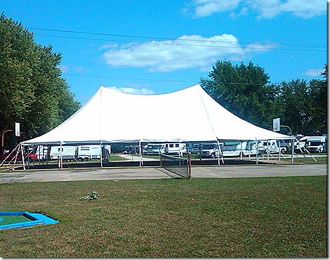 Rally Tent