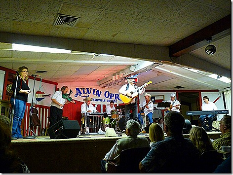 Alvin Opry Stage