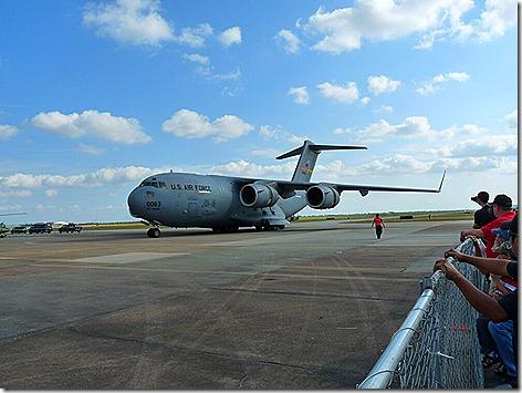 C-17 Backing Up