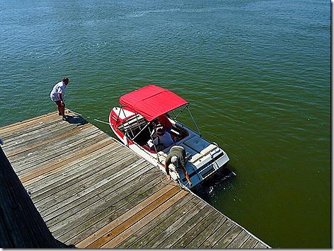 Clear Lake Boat Trip Dock