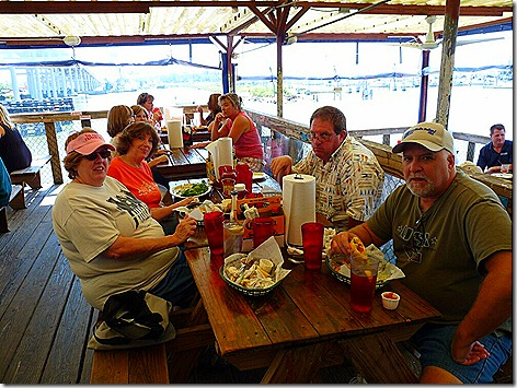 Clear Lake Boat Trip Group