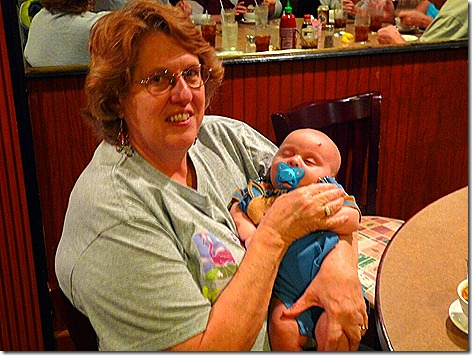 Jan and Landon at King Food