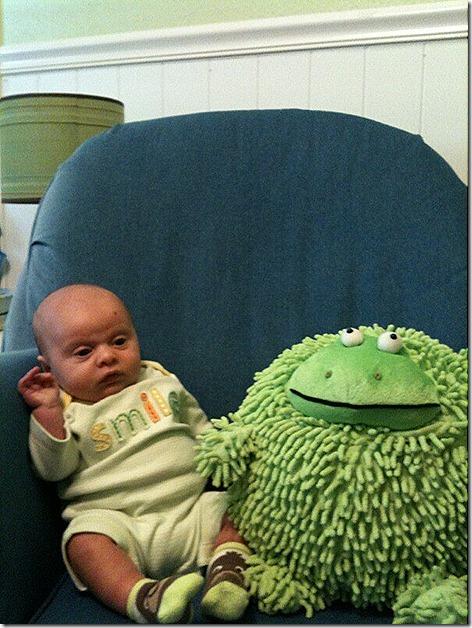 Landon and Frog 1