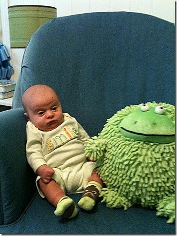 Landon and Frog 4
