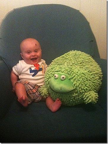 Landon and His Froggy