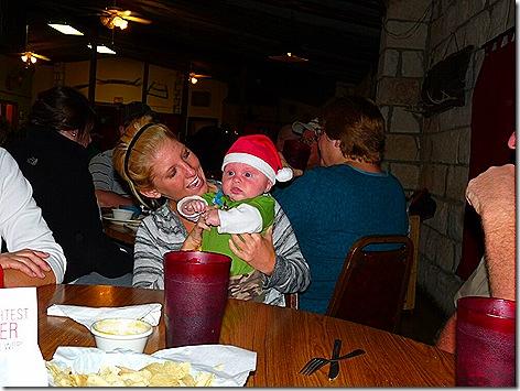 Piper and Santa Landon
