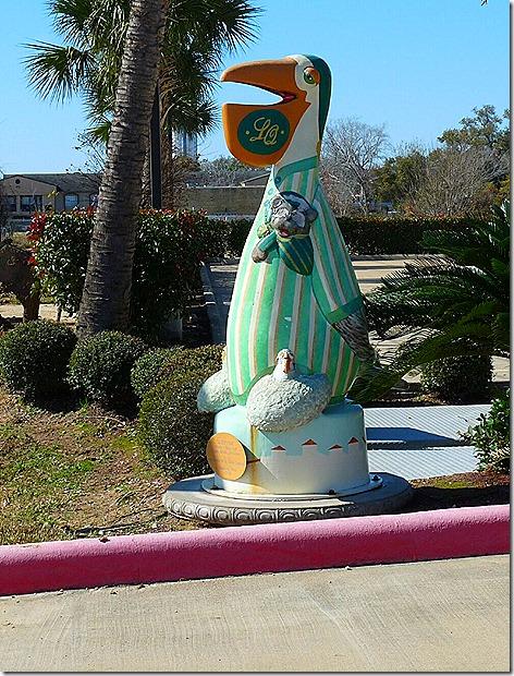 Pelican Mascot 1