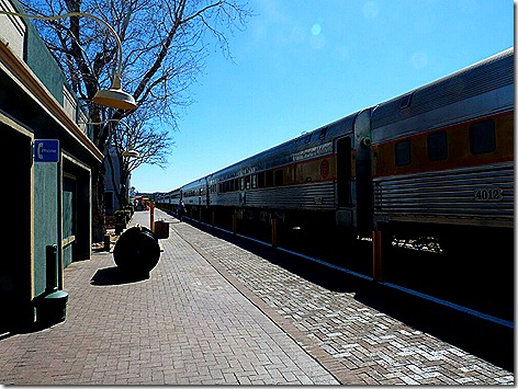 Canyon Train Station