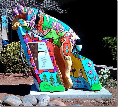 Flagstaff Mtn Lion Mascot