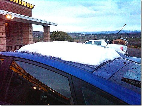 La Fonda Snow