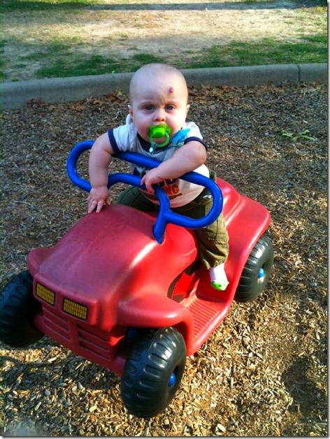 Landon at Park