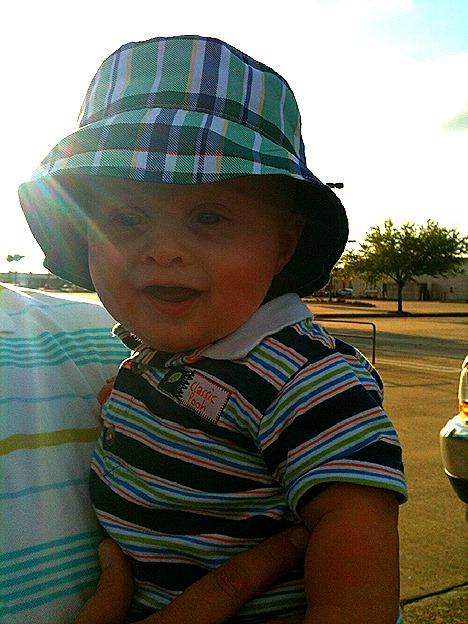 Landon's New Hat 3
