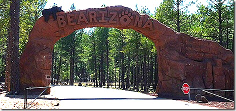 Bearizona Entrance