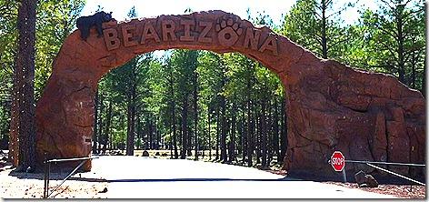 Bearizona Entrance