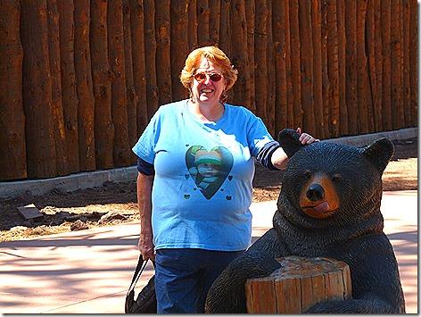 Jan and Her Little Bear Friend