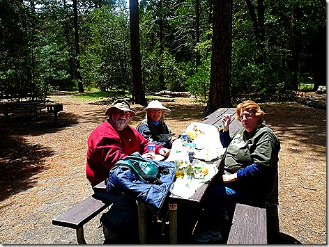 Yosemite Lunch