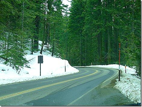 Yosemite Snow Drive 1