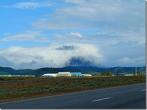 Black Butte Clouds
