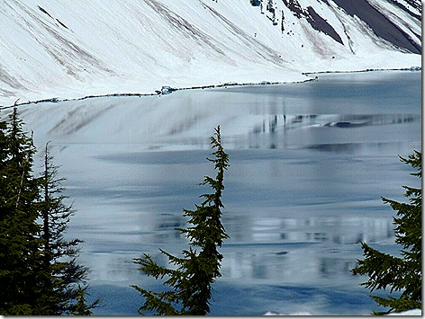 Crater Lake Ice