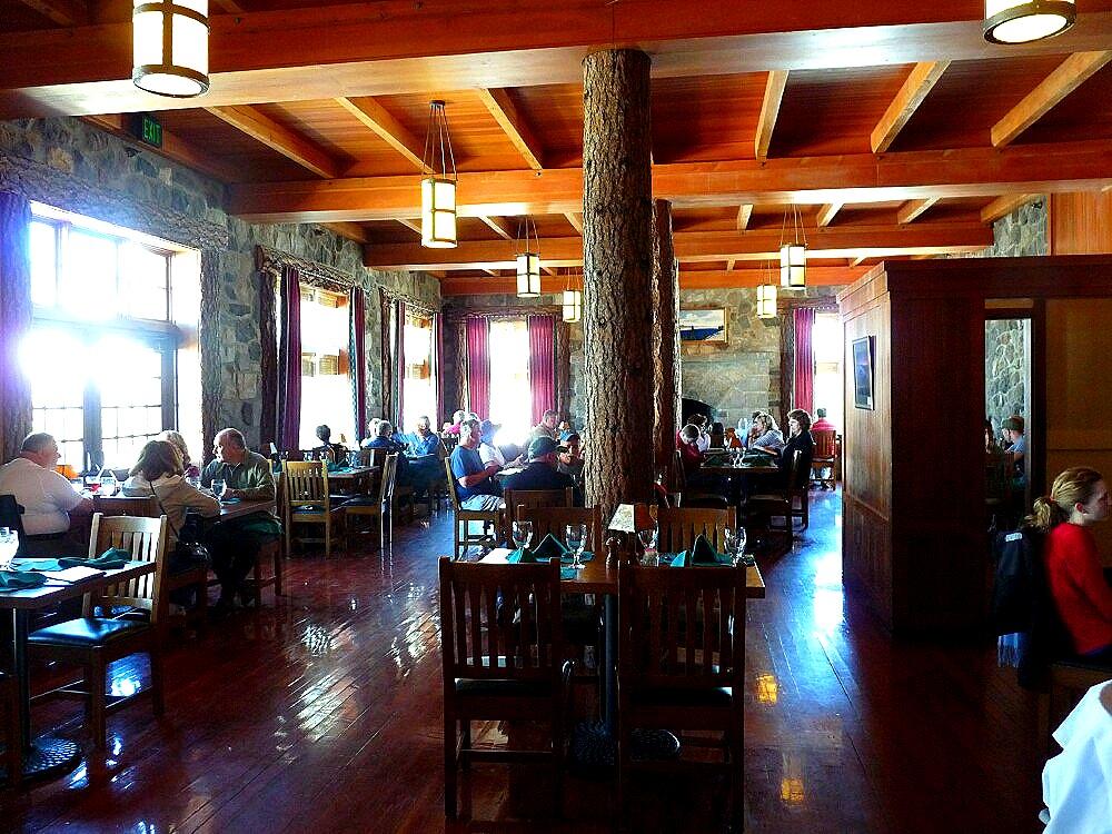 Crater Lake Lodge Dining Room Menu