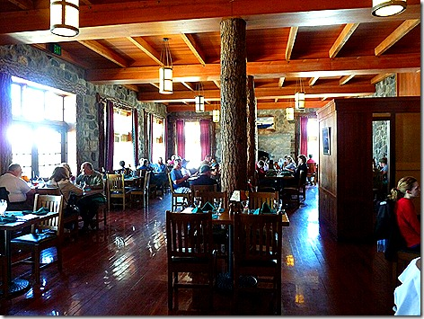 Crater Lake Lodge Dining Rm