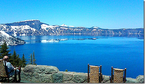 Crater Lake Lodge View