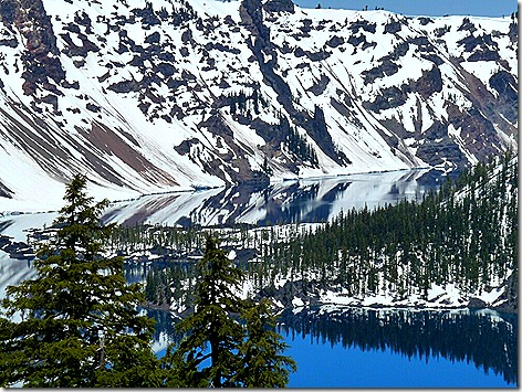 Crater Lake Mirror