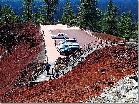 Lava Butte Parking 2
