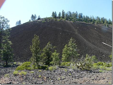 Lava Butte Start Climb