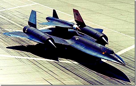 sr71 with piggyback drone