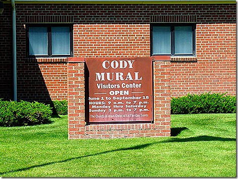 Cody Murals Sign