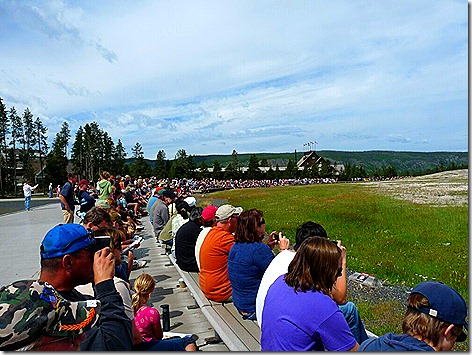 Old Faithful 1 Crowd