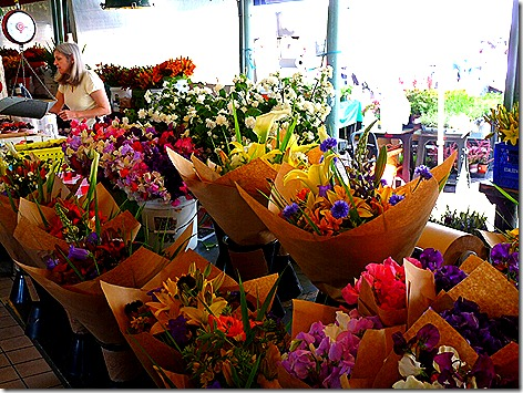 Pike Place Market Flowers 1